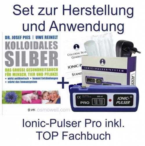 Ionic Pulser Pro Set mit Buch