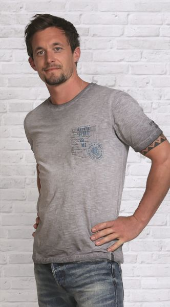 Herren T-Shirt ,Nature Spirit' stein